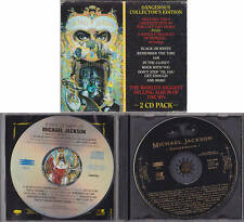 Michael Jackson DANGEROUS CD Double Collector's Edition Remixes AUSTRALIA 1991