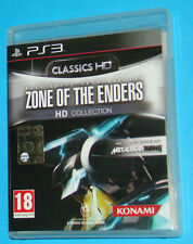 Zone of the Enders HD Collection - ZOE - Sony Playstation 3 PS3 - PAL