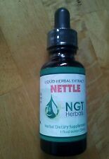 Nettle Root (Urtica dioica) Herbal Extract Tincture 2 oz. Prostate Urinary Tract