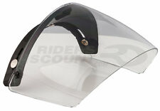 VISIERA UNIVERSALE CASCO 3 BOTTONI JET CUSTOM CLEAR 01310075