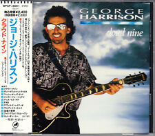 George Harrison Cloud Nine 1990 Japan CD Early Press With Obi WPCP-3991 HTF Rare