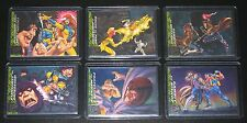 1994 Fleer Ultra X-Men GREATEST BATTLES Insert Set of 6 Cards NM/M, Marvel