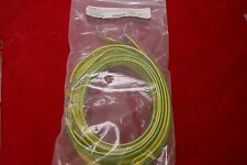"6 Ground Strap 10AWG #10 Holes 48"" Green / Yellow"