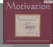 Motivation: Christian, New Age & Classical Instrumentals - 2 New CDs!