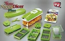 Nicer Dicer Plus Multi Chopper Vegetable Cutter Fruit Slicer Peeler