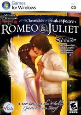 Video Game PC The Chronicles of Shakespeare Romeo & Juliet Collectors Edition