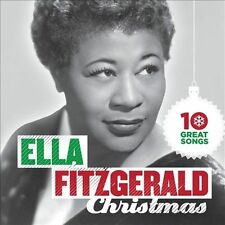 10 Great Christmas Songs by Ella Fitzgerald (CD, 2012, Capitol) NEW