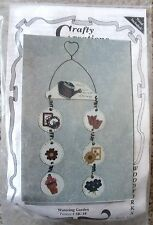 NIP Crafty Creations Watering Garden Woodworks Wood & Floral Theme Sign Kit
