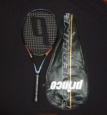 PRINCE POWER LINE TOUR Ti OS GRAPHITE TENNIS RACQUET WITH COVER 4 3/8 #2171