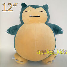 "New Pokemon Go Plush Snorlax #143 Soft Toy Doll Stuffed Animal Teddy 12"" BIG"