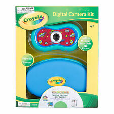 Crayola 2.1 MP Digital Camera Kit Built-In Memory Photo Editing Center -BLUE