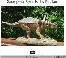 Sauropelta Dinosaur model Built/Painted by Shane Foulkes from his Personal Colle