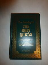 The Meaning Of The Holy Quran Book By Abdullah Yusuf Ali Hardcover New B100