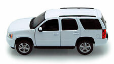 White Chevy Tahoe 1/24th Scale Diecast Model