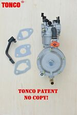 Dual fuel carburetor LPG conversion kit 170F for generator GX200 TONCO carb.