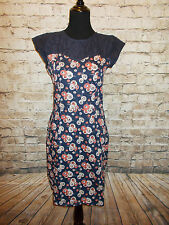 Modcloth Sprout Onto the Scene Dress NWT Sz M Mata Traders Floral cotton
