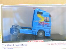Wiking 508 01 Mercedes Actros Solo-Zugmaschine Expo 2000 Hannover OVP (U3851)