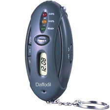 Daffodil HPC100 - Keyring Breathalyser - Alcohol Breath Tester with LED Torch