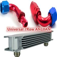 7  ROW AN-10AN Universal Aluminum Engine Transmission 248mm Oil Cooler Silver