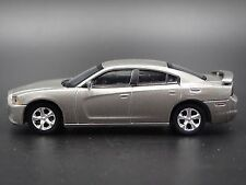 2011-2014 Dodge Charger SILVER GRAY  RARE 1:64 LIMITED EDITION COLLECTIBLE