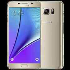 Samsung Galaxy Note 5 SM-N920A 64GB Gold AT&T Straight Talk New Other