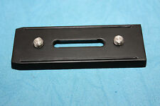 replacement plate for vinten vision 5 and 5LF with two screws