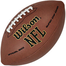 Wilson 2015 NFL Super Grip Composite American Football Ball Official Size - Tan