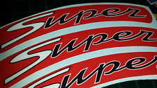 Vespa GTS Super Sport Rim tape Wheel stickers EXCLUSIVE DESIGN  125 200 250 300