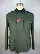 WWII German EM Soldier HBT M36 Field Tunic Jacket