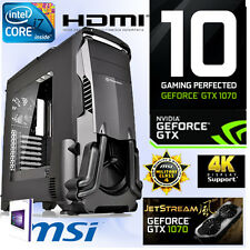 Gamer PC Intel I7 6700K 4x4,20Ghz-16GB-Nvidia GTX1070 8GB Jetstream Gaming-