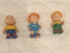 Caillou Figures Rosie Xavier Lot Posable Cake Topper
