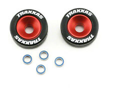 Traxxas Slash Rustler 2wd Wheelie Bar Wheels Aluminum (Red) TRA5186