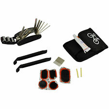 Bike Cycle Bicycle Tool Kit Plus Punture Repair Kit Puch Socket Hex Spanner 1/4""