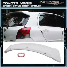 06-11 Toyota Yaris HB Spoon Style Unpainted Roof Spoiler Wing (ABS)