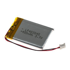 3.7 Volt Rechargeable Lithium Battery (400 mAh)