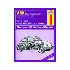 VW Beetle 1303 1303S GT 1.3 1.6 Petrol 1972-75 (up to P Reg) Haynes Manual
