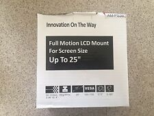 Arrowmounts AM-PS3B Full Motion Articulating Wall Mount for LED/LCD Televisions
