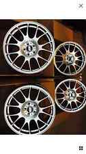 "18"" 8j alloy wheels bmw 1 3 series alloy wheels bbs ch motorsport style 5x120"