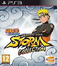 Naruto Shippuden: Ultimate Ninja Storm Collection - 1 2 3 [PS3, Region Free] NEW