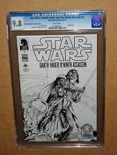 CGC 9.8 STAR WARS DARTH VADER 9TH ASSASSIN 1 SKETCH VARIANT COMIC 2013 1st movie