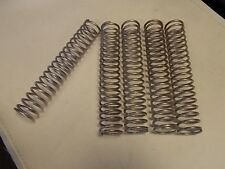 """STAINLESS STEEL COMPRESSION SPRINGS  7 """" x 1 1/4"""" x 1/8"""" QTY: 5 MARINE BOAT"""