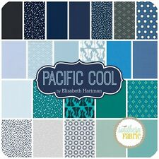 "Robert Kaufman-COOL colorstory-Pacifico - 42 quadrati - 5 ""X 5"" Charm Pack"
