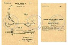 SKIPPY RACER SCOOTER Patent ~ Van Doren/American National Company 1933  PM#970