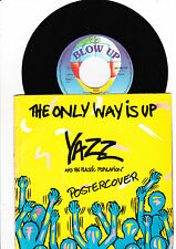"7""- Yazz - The Only Way is up + Postercover ---"