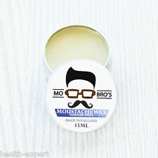 Mo Bro's - Summer Spice Moustache Wax 15ml Tin Made in England
