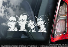 The Big Bang Theory - Car Window Sticker -  Sheldon Cooper Sign Art Gift TV Show