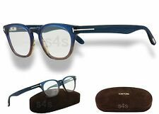 Tom Ford Women's Wayfarer Glasses Spectacles Frame BLUE_HAVANA BROWN FT5306 089