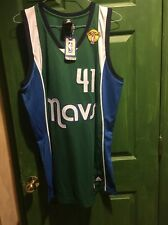 Adidas Dallas Mavericks Nowitzki Jersey With The Final Patch size 44