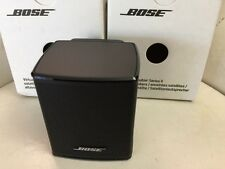 2 Bose Virtually Invisible Series II Cube Speakers Acoustimass 3/6 Series V