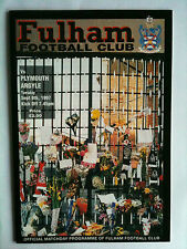 1997/98 Fulham v Plymouth Argyle Nationwide Division 2